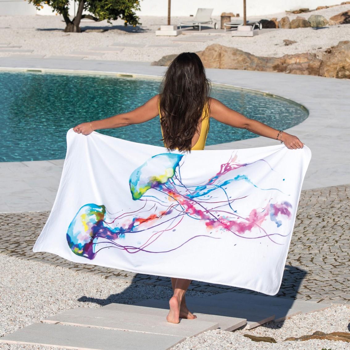 JELLYFISH BEACH TOWELS